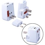 Premium World Power Travel Adaptor Kit - Surge protector - AC 100-250 V - output connectors: 1