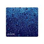 Raindrop Mouse Pad Blue