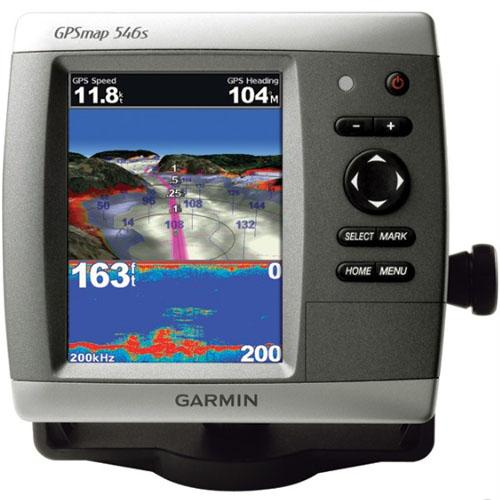 Garmin International GPSMAP 546s Compact Chartplotter (with dual-frequency transducer)