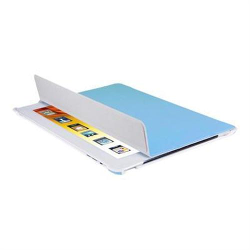 V7 Slim Folio Stand for iPad 2 All-in-One protection for Front and Back - Blue