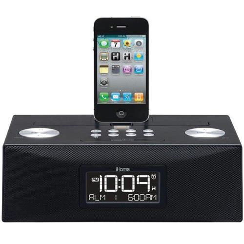 iHome ID83BZC Dual Alarm Stereo Clock Radio 30 Pin Connector