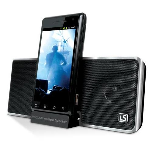 dreamGEAR i.Sound BluSound Wireless - speaker - for portable use - wireless