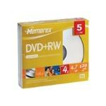 DVD+Rw 4.7GB 4X L Sjc 5Pk