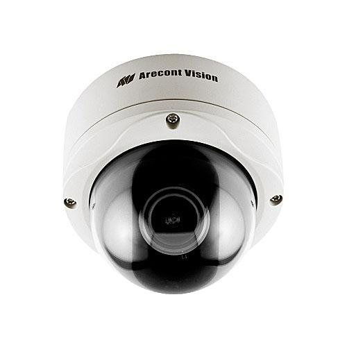 Arecont Vision 3 Megapixel, 15fps, 4.5-10mm lens, Day/Night H.264/MJPEG, Dome IP Camera
