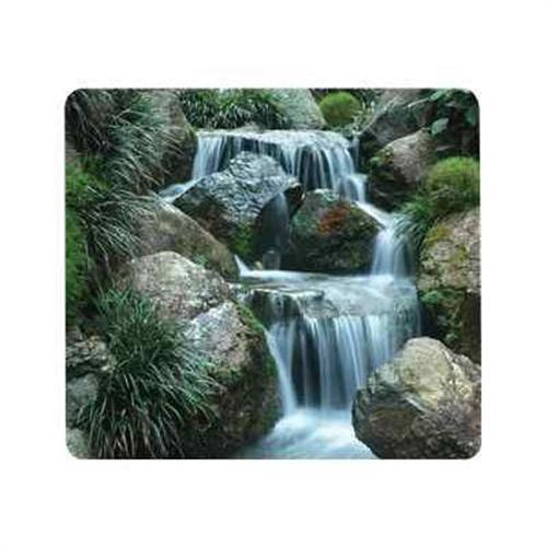 Fellowes Recycled Mouse Pad Waterfall - mouse pad