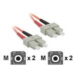 4m SC-SC 62.5/125 OM1 Duplex Multimode PVC Fiber Optic Cable - Orange - Patch cable - SC multi-mode (M) to SC multi-mode (M) - 13 ft - fiber optic - OM1 - orange