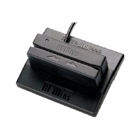 RF Ideas pcSwipe Enroll - Magnetic card reader (Tracks 1, 2 & 3) - USB - black MS3-00M1AKU