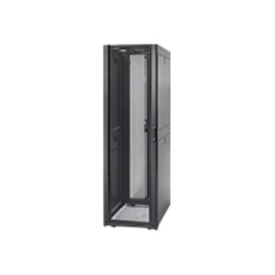 APCNetShelter SX - Rack (ventilated) - black - 42U - 19