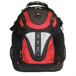 "MAXXUM 15.4"" Laptop Backpack - Red/Black"