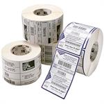 Z-Select 4000D - Perforated coated all-temp acrylic adhesive paper labels - 4 in x 6 in 5700 label(s) ( 12 roll(s) x 475 ) - for TLP 28XX; Desktop LP 2844; G-Series GC420, GK420, GX420, GX-420, GX430; LP 28XX; TLP 28XX