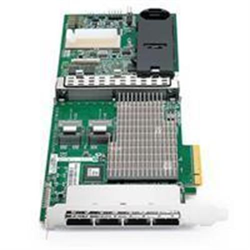 HP Smart Array P812/1G FBWC 2-ports Int/4-ports Ext PCIe x8 SAS Controller (Open Box Product, Limited Availability, No Back Orders)