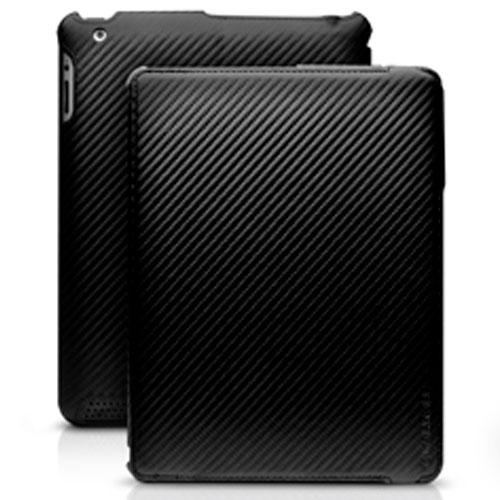 MarBlue C.E.O. Hybrid for iPad 4th generation, iPad 3rd generation and iPad 2 - Carbon Fiber