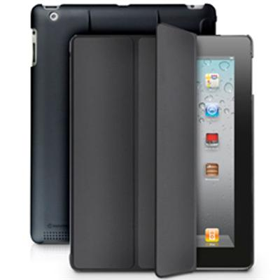 MarBlue MicroShell Folio Case for iPad 4th generation, iPad 3rd generation and iPad 2 - Black (AHMF11)