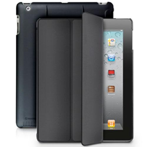 MarBlue MicroShell Folio Case for iPad 4th generation, iPad 3rd generation and iPad 2 - Black
