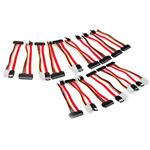 15 Pack Replacement SATA Cables for KCLONE-14HD-SATA