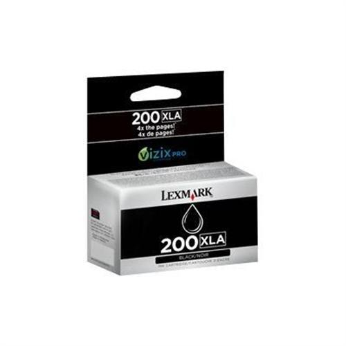 Lexmark Cartridge No. 200XLA - High Yield - black - original - ink cartridge