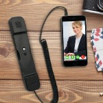 Radiation Safe Telephone Handset for iPad & iPhone - Black