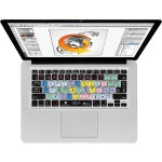 KB Covers KB Covers Illustrator Keyboard Cover for MacBook, MacBook Air & MacBook Pro (Unibody, Black Keys) AI-M-CC-2