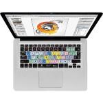 KB Covers Illustrator Keyboard Cover for MacBook, MacBook Air & MacBook Pro (Unibody, Black Keys)