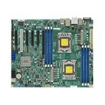 SUPERMICRO X9DAL-i - Motherboard - LGA1356 Socket - 2 CPUs supported - C602 - USB 3.0 - 2 x Gigabit LAN - HD Audio (8-channel)