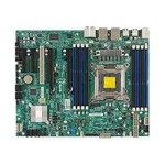 Super Micro SUPERMICRO X9SRA - Motherboard - ATX - LGA2011 Socket - C602 - USB 3.0 - 2 x Gigabit LAN - HD Audio (8-channel) MBD-X9SRA-O