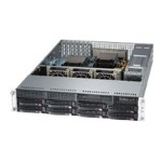 "Supermicro SuperServer 6027R-73DARF - Server - rack-mountable - 2U - 2-way - RAM 0 MB - SATA/SAS - hot-swap 3.5"" - no HDD - G200eW - GigE - monitor: none"