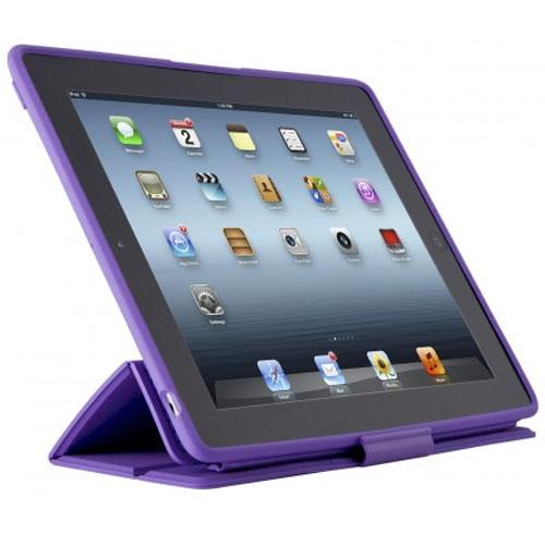 Speck Products PixelSkin HD Wrap for iPad 4th generation, iPad 3rd generation and iPad 2 - Grape