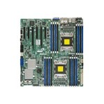SUPERMICRO X9DRE-LN4F - Motherboard - extended ATX - LGA2011 Socket - 2 CPUs supported - C602 - 4 x Gigabit LAN - onboard graphics