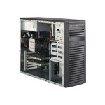 Super Micro SuperWorkstation Intel Xeon E5-1620 3.6GHz Desktop PC - 16GB RAM, 2TB HDD, NVidia Quadro 2000 graphics, DVD-Writer, Gigabit Ethernet, Mid-Tower. SYS-5037A-I