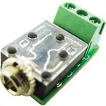 3.5Mm Stereo Mini Jack PC Mnt