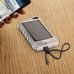 Solair Technologies Universal Portable Solar Charger SP1004 SILVER