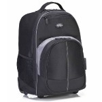 "Compact Rolling Backpack - Carrying backpack - 16"" - black"