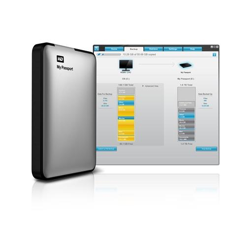 how to open wd external hard drive