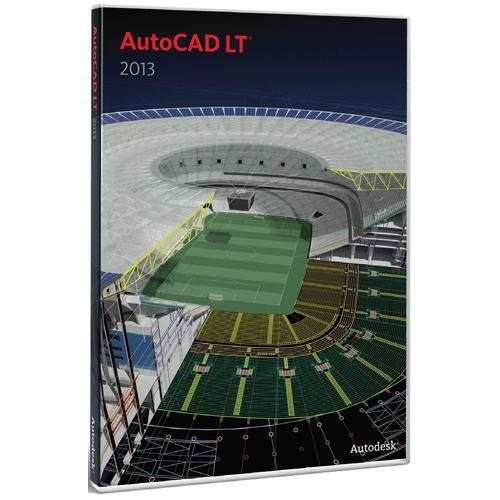 Autodesk AutoCAD LT for Mac 2013 Commercial New SLM
