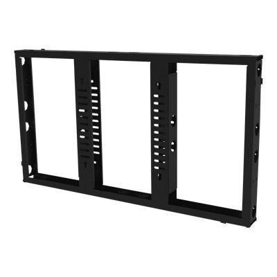 Premier MountsMVW55 - Mounting component ( frame ) for plasma panel - black - screen size: 55