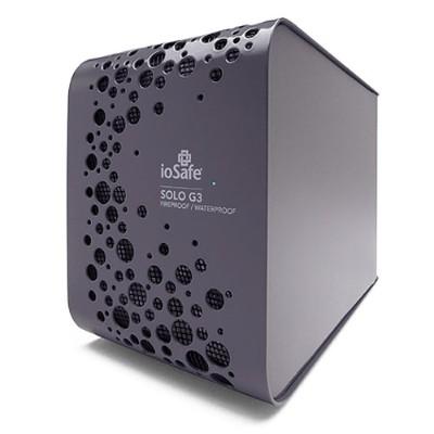 ioSafeSolo G3 2TB USB 3.0 Fireproof Waterproof External Hard Drive + 1 Year Data Recovery Service(SK2TB)