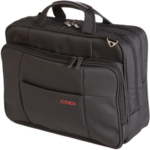 "CODI 15.6"" Diplomat Top-load Shoulder Case - Black"