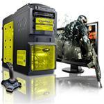 X-15 Intel Core i7 Quad-Core 2600K 3.40GHz Gaming PC - 16GB RAM, 1TB HDD, Blu-ray ROM, Gigabit Ethernet, Yellow