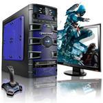Slayer AMD FX Octa-Core 8120 3.10GHz Gaming PC - 16GB RAM, 1TB HDD, Blu-ray ROM, Gigabit Ethernet, Blue