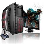 Hurricane AMD FX Hexa-Core 6100 3.30GHz Gaming PC - 16GB RAM, 1TB HDD, DVD+/-RW DL with LightScribe, Gigabit Ethernet