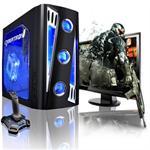 X-Cruiser 2 AMD Athlon II X3 Tri-Core 450 3.20GHz Gaming PC - 8GB RAM, 1TB HDD, DVD+/-RW DL with LightScribe, Gigabit Ethernet, Black