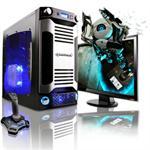 X-Sniper AMD Phenom II X4 Quad-Core 925 2.80GHz Gaming PC - 16GB RAM, 1TB HDD, Blu-Ray ROM, Gigabit Ethernet, Silver