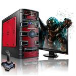 CybertronPC Slayer Intel Core i7 Quad-Core 2600K 3.40GHz Gaming PC - 16GB RAM, 1TB HDD, Blu-ray ROM, Gigabit Ethernet, Red TGM2111F