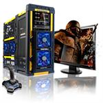 LANMaster Intel Core i7 Quad-Core 2600K 3.40GHz Gaming PC - 16GB RAM, 2x64GB SSD + 1TB HDD, Blu-Ray ROM, Gigabit Ethernet, Yellow