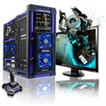 LANMaster AMD FX Octa-Core8120 3.10GHz Gamer - 16GB RAM, 2x64GB SSD + 1TB HDD, Blu-Ray ROM, Gigabit Ethernet, Blue