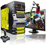 Fortress Intel Core i7 Quad-Core 2600K 3.40GHz Gaming PC - 16GB RAM, 1TB HDD, Blu-Ray ROM, Gigabit Ethernet, Yellow