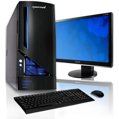 CybertronPC Hush Athlon II X2 Dual-Core 240 2.80GHz Desktop - 2GB RAM, 500GB HDD, 19