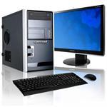 PCESSA102C Essential AMD Athlon II X2 Dual-Core 240 2.80GHz Desktop PC - 2GB, 500GB HDD, DVD+/-RW, Gigabit Ethernet