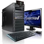 CybertronPC Desktop Essential 3101I Intel Core i7 Quad Core 2600 3.40GHz System - 16GB RAM, 2TB HDD, Blu-Ray ROM, Gigabit Ethernet, Black TDT3101I