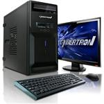 CybertronPC Desktop Essential 3201A AMD Athlon II X2 Dual-Core 250 3.0GHz System - 4GB RAM, 1TB HDD, DVD+/-RW DL, Gigabit Ethernet TDT3201A